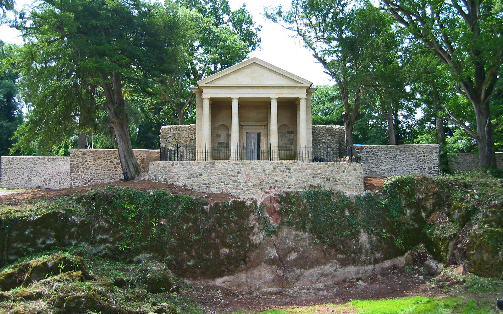 Restoration & Rebuild of C18th Folly